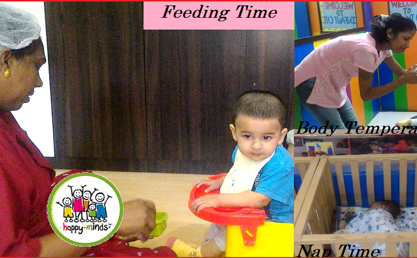 Daycare for Infants at Powai and Bhandup: At Happy Minds International, you can be rest assured.